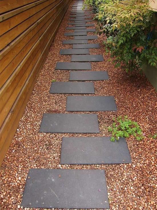 caminhos jardim concreto