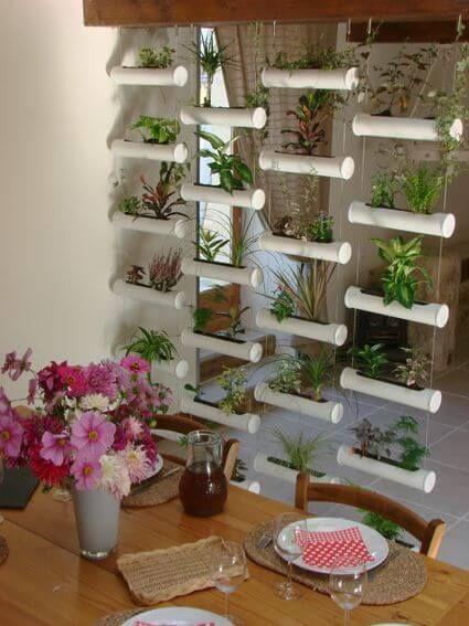ideias criativas plantar bambu