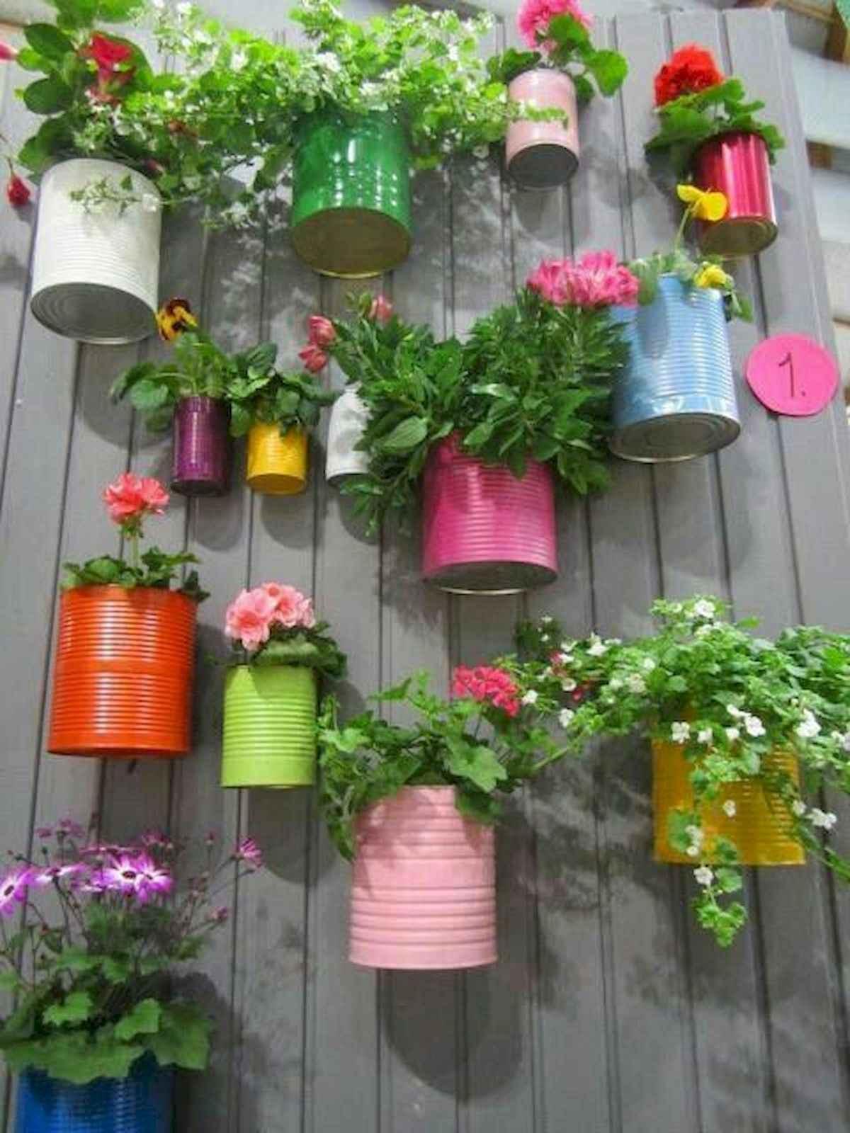 ideias criativas plantar latas