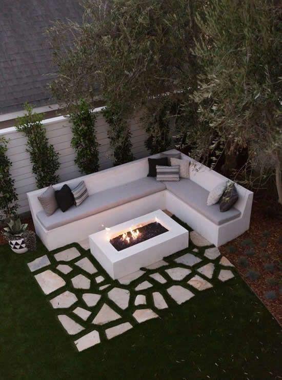 jardins planejados area lazer