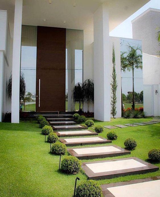jardins planejados entrada