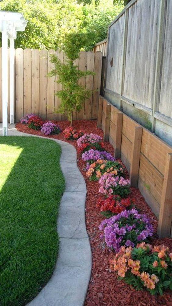 jardins planejados flores