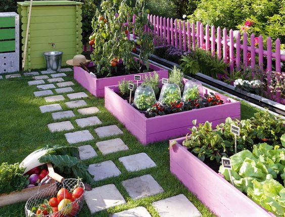 jardins planejados horta
