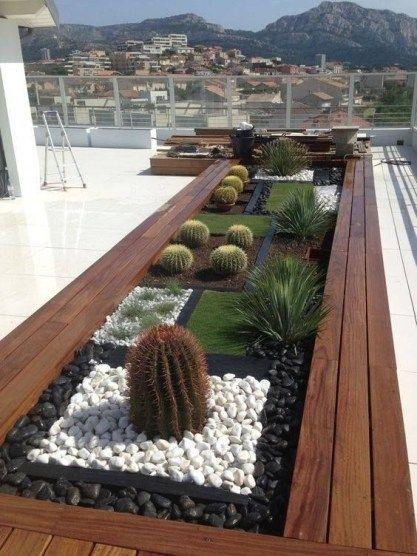 jardins planejados pedras
