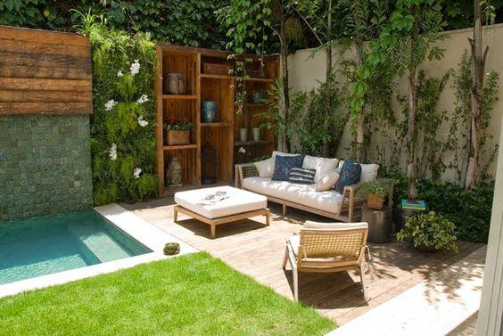 jardins planejados piscina
