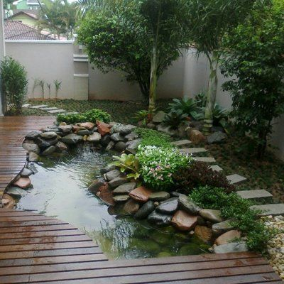 lago jardim deck