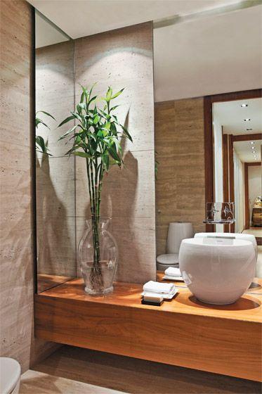 melhores plantas casa bambu banheiro