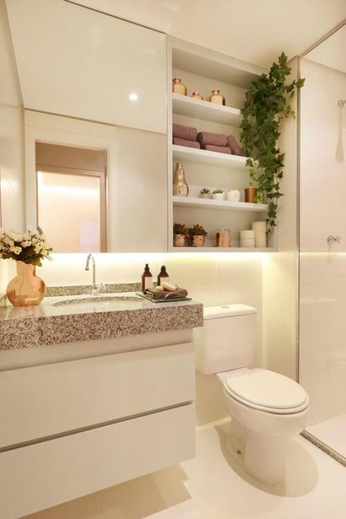 plantas banheiro ideias