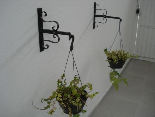 suporte plantas ferro criativo