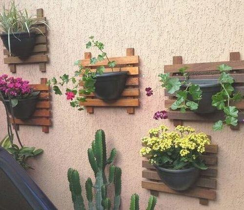 suporte plantas paletes